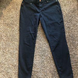 Maurice's Crop Pants Navy
